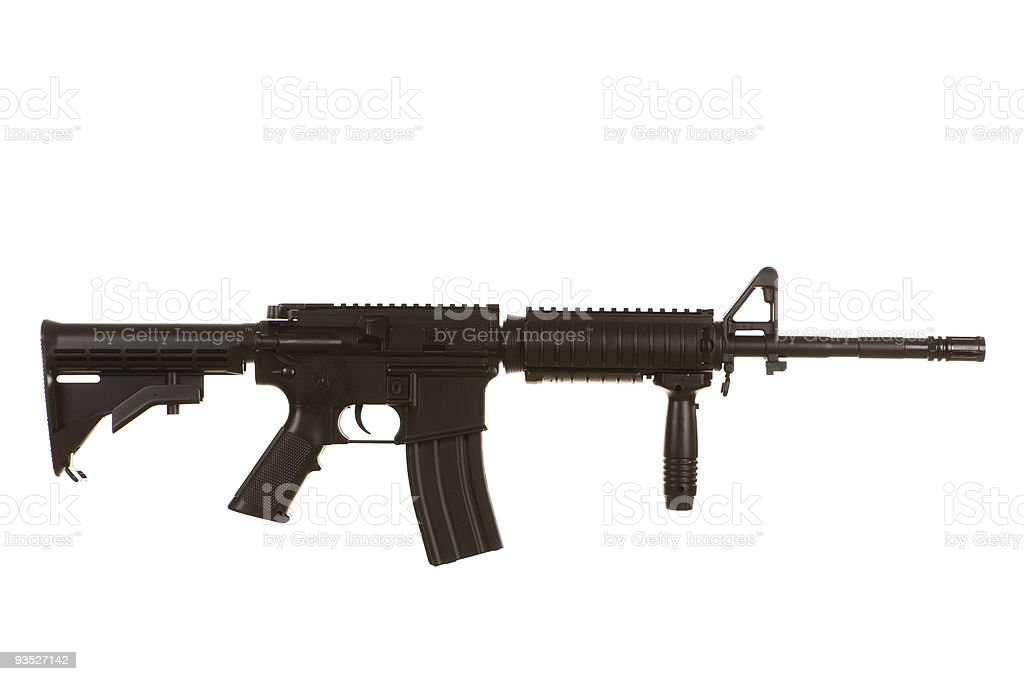 M4 Assault Rifle stock photo
