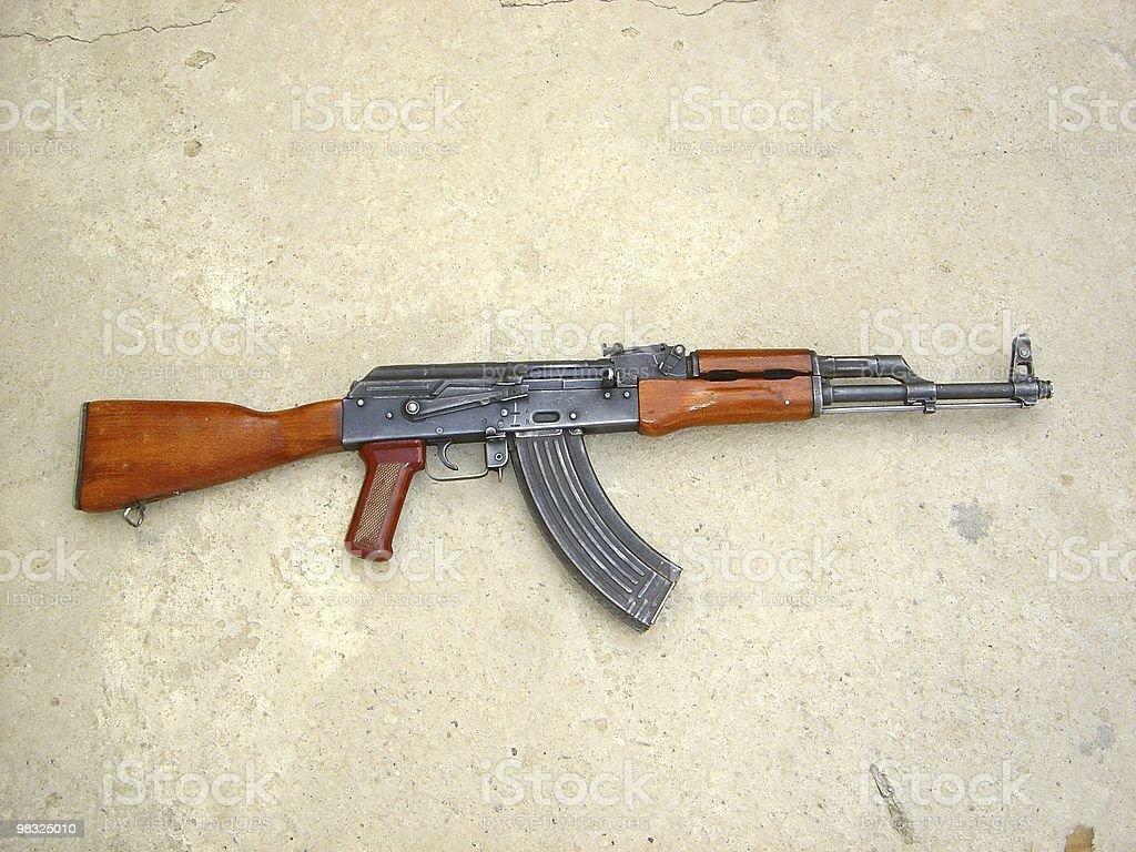 AK-47 Assault Rifle stock photo