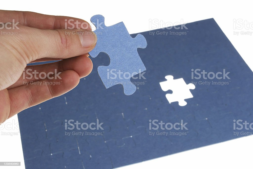 Assembled royalty-free stock photo