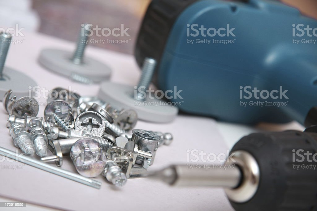 Assembling tool royalty-free stock photo