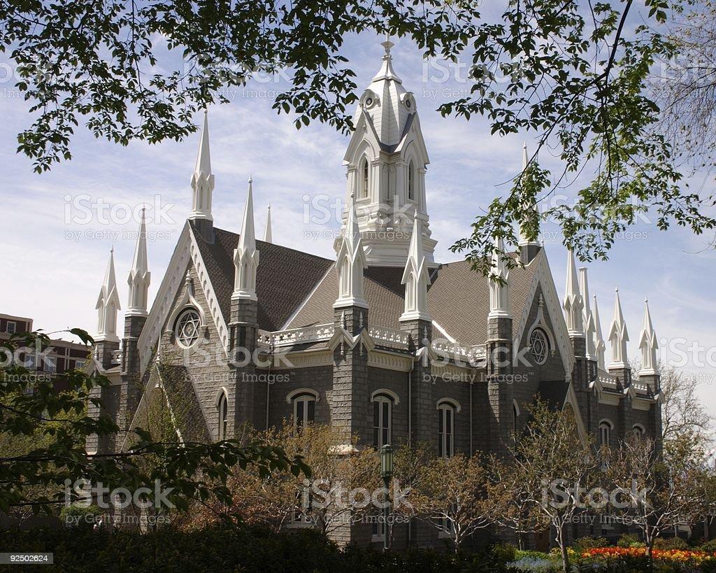 Assembly Hall royalty-free stock photo
