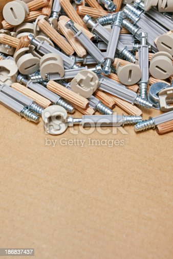 istock Assembly kit for furniture 186837437