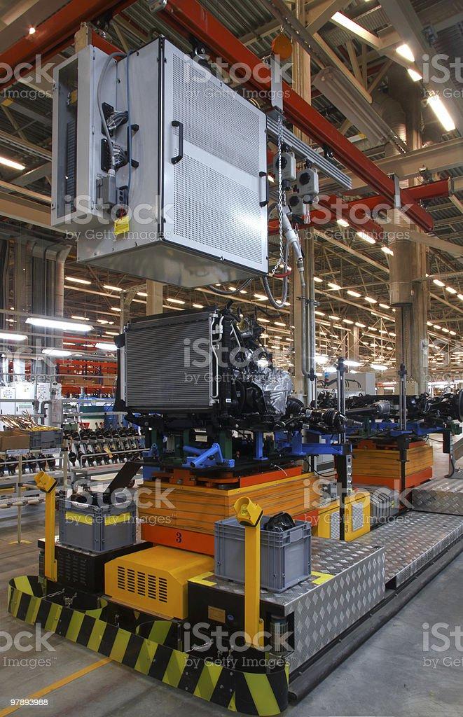 assembly shop royalty-free stock photo