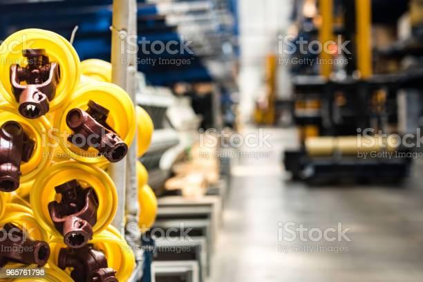 Vergadering Workshop Interieur Op Grote Industriële Plant Stockfoto en meer beelden van Apparatuur