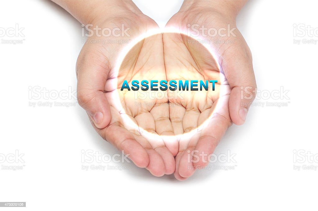 Assessment stock photo