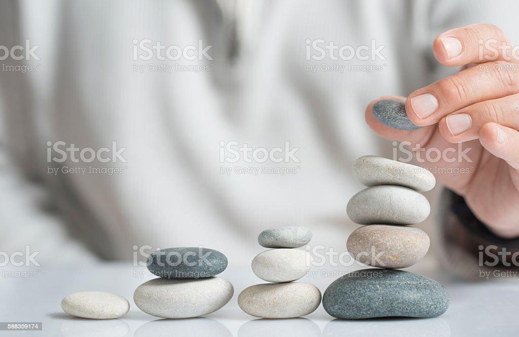 Asset Management Concept stock photo