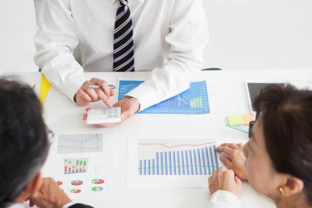 資産管理 ストックフォト