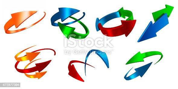 171150458istockphoto Asset of arrows 472377394