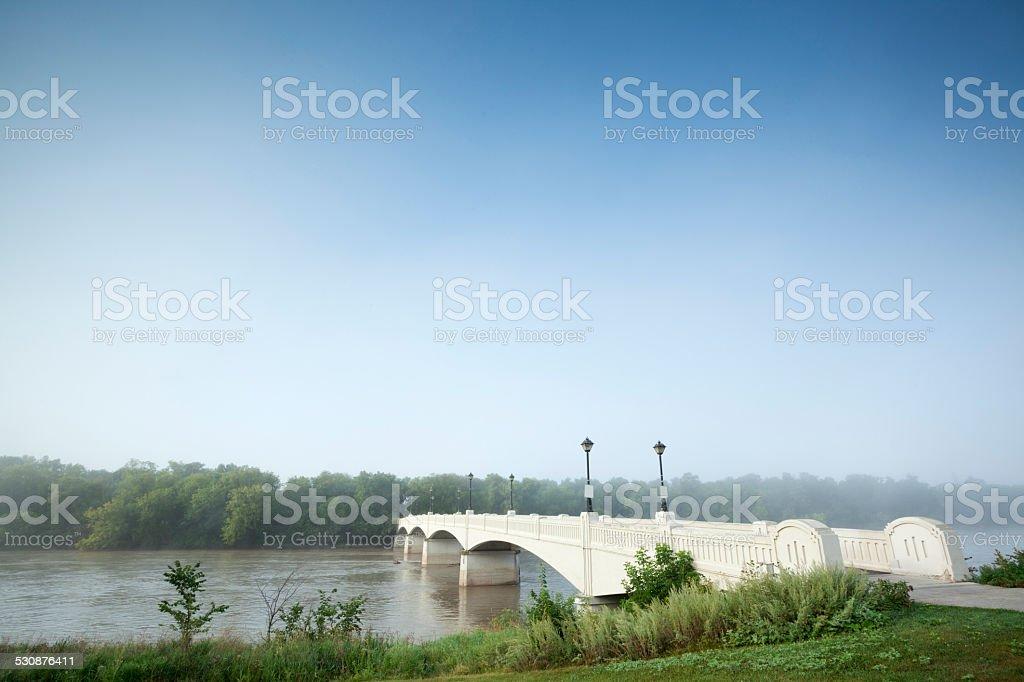 Assiniboine Park Winnipeg Manitoba canada stock photo