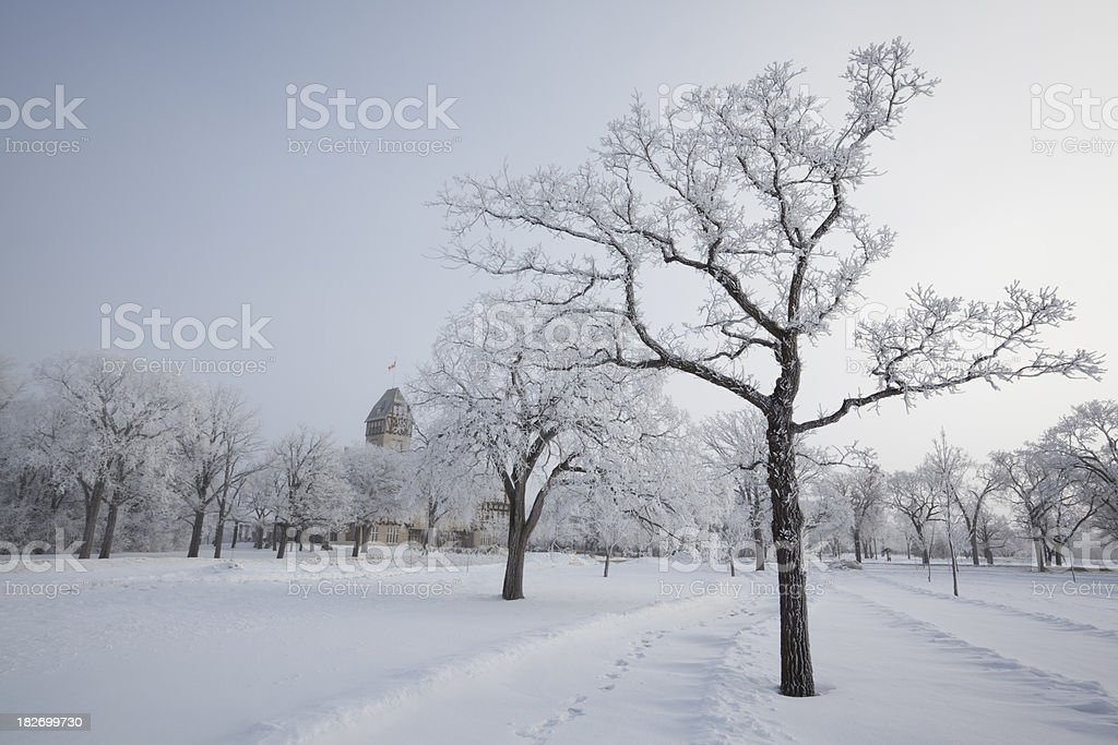 Assiniboine Park Winnipeg royalty-free stock photo