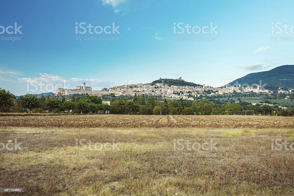 Assisi, Italy royalty-free stock photo