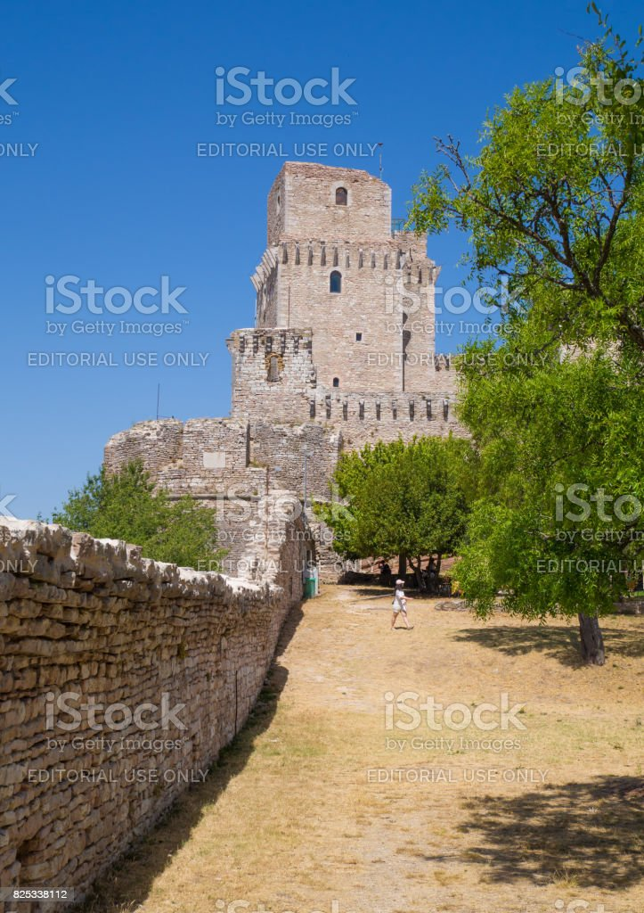 Assisi (Umbria, Italy) stock photo