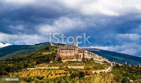 istock Assisi - Province of Perugia, Umbria Region, Italy 1196544448