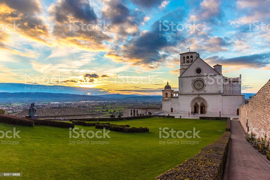 Assisi, Umbria (Italy) stock photo