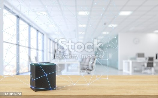 Assistant in a Modern Office