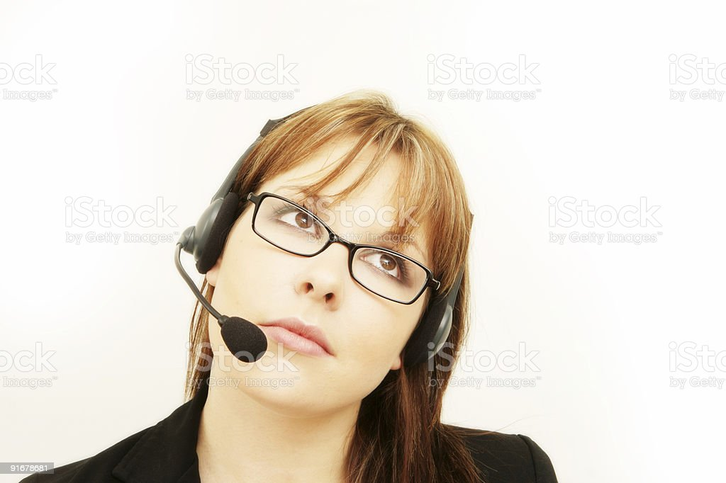 Assistant royalty-free stock photo