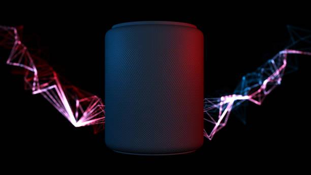 Assistenten smart Lautsprecher mit künstlicher Intelligenz Konzept – Foto