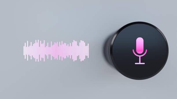 Assistent Smart-Lautsprecher mit Konzept der künstlichen Intelligenz – Foto