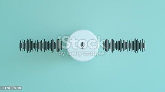 media concept smart speaker