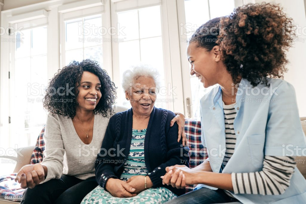 Assisted living center stock photo