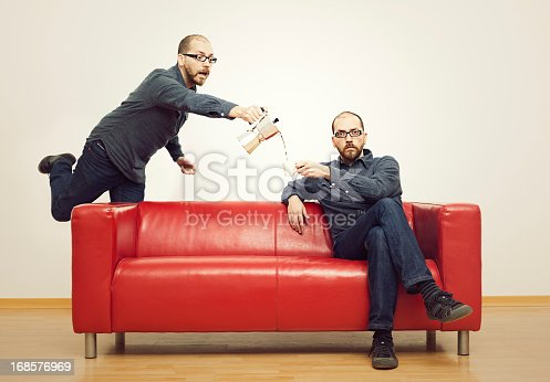 istock Assisting himself 168576969