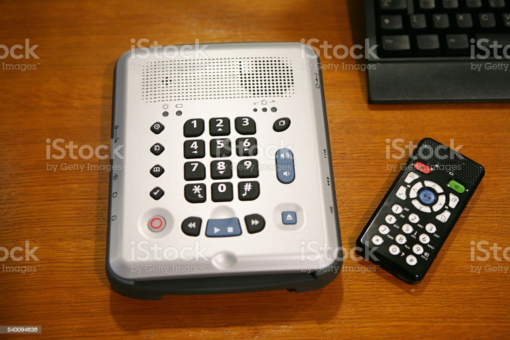 Assistive Device for Blind People stock photo