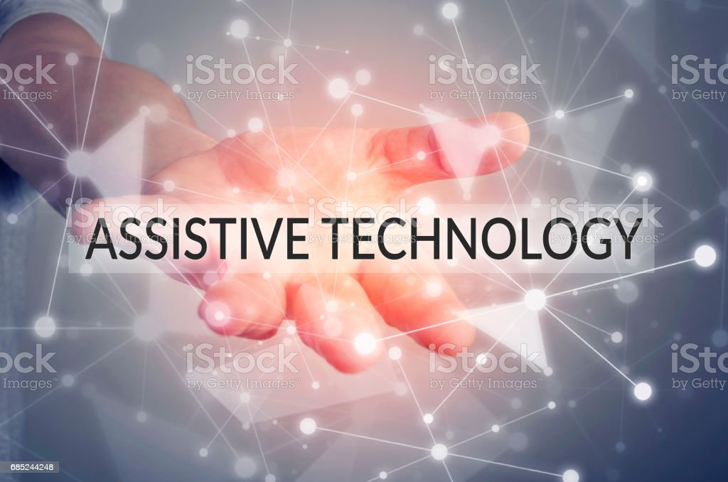 Assistive technology stock photo