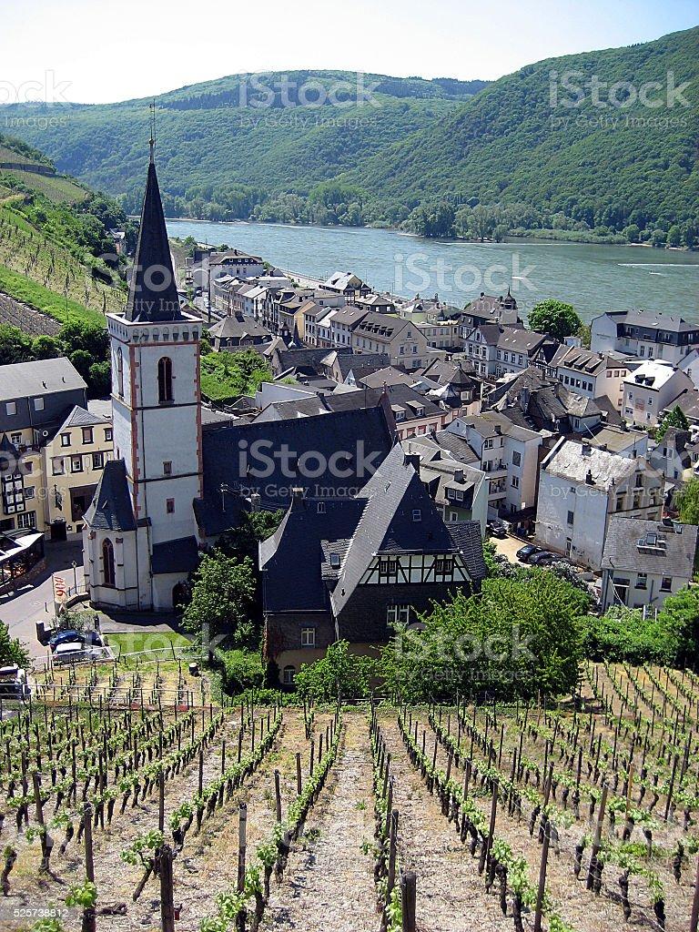 Assmannshausen, Germany stock photo