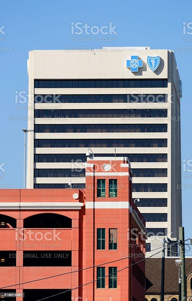 BCBS Association (Blue Cross) stock photo