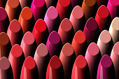 assorment of lipsticks