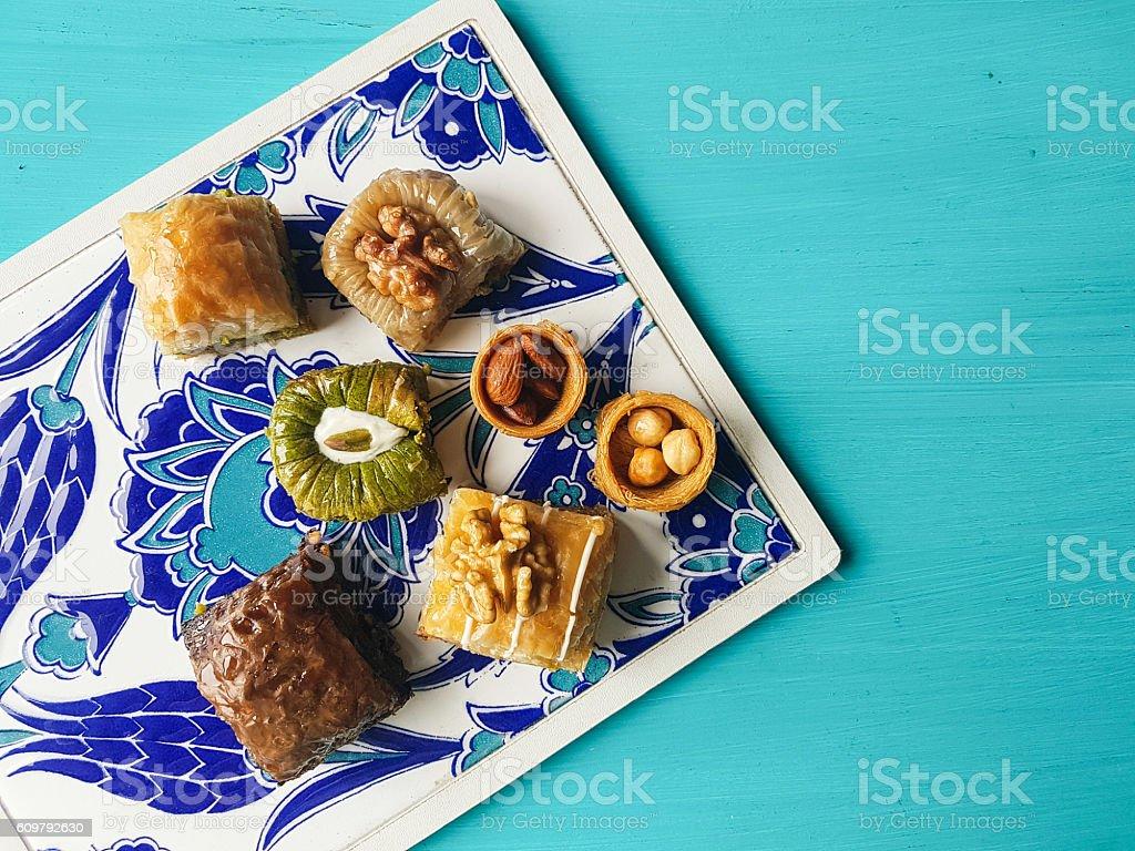 Assorted baklava dessert - Photo