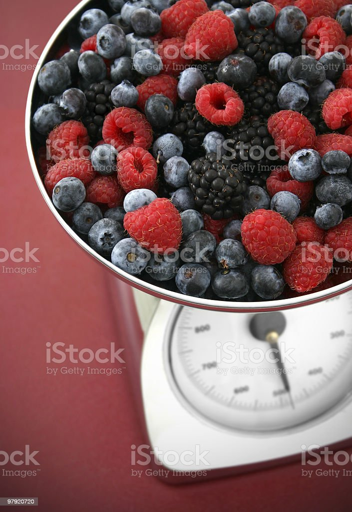assorted berries royalty-free stock photo