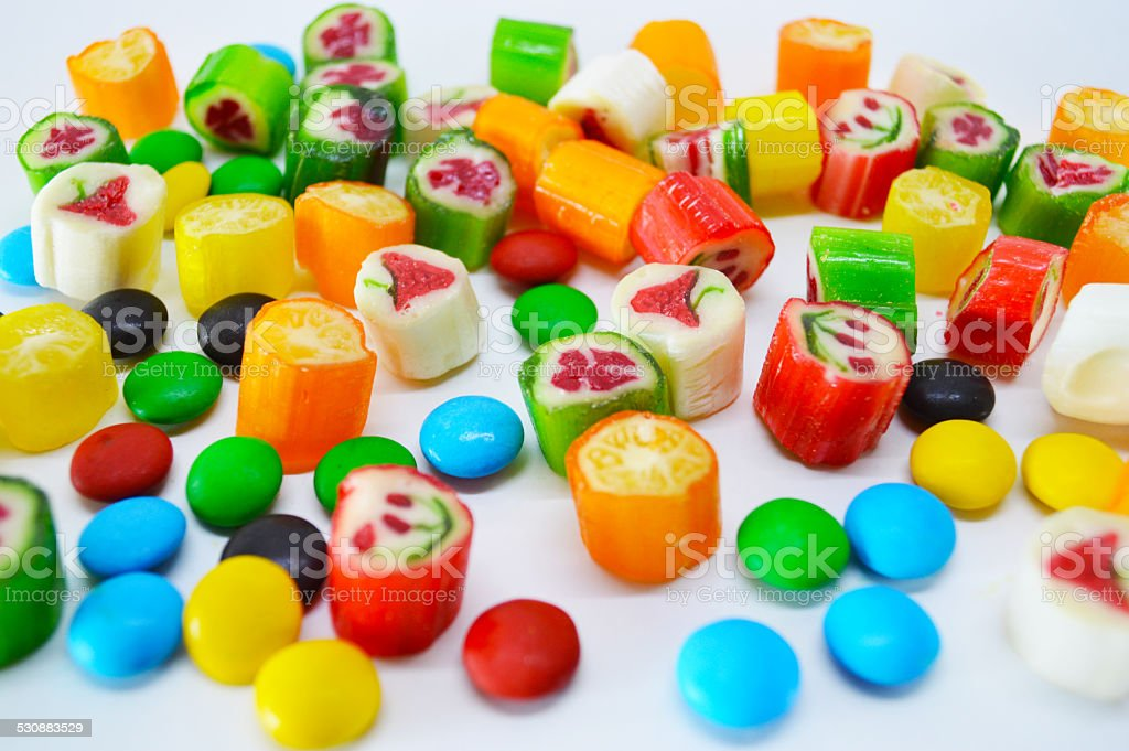 Assorted candies royalty-free stock photo