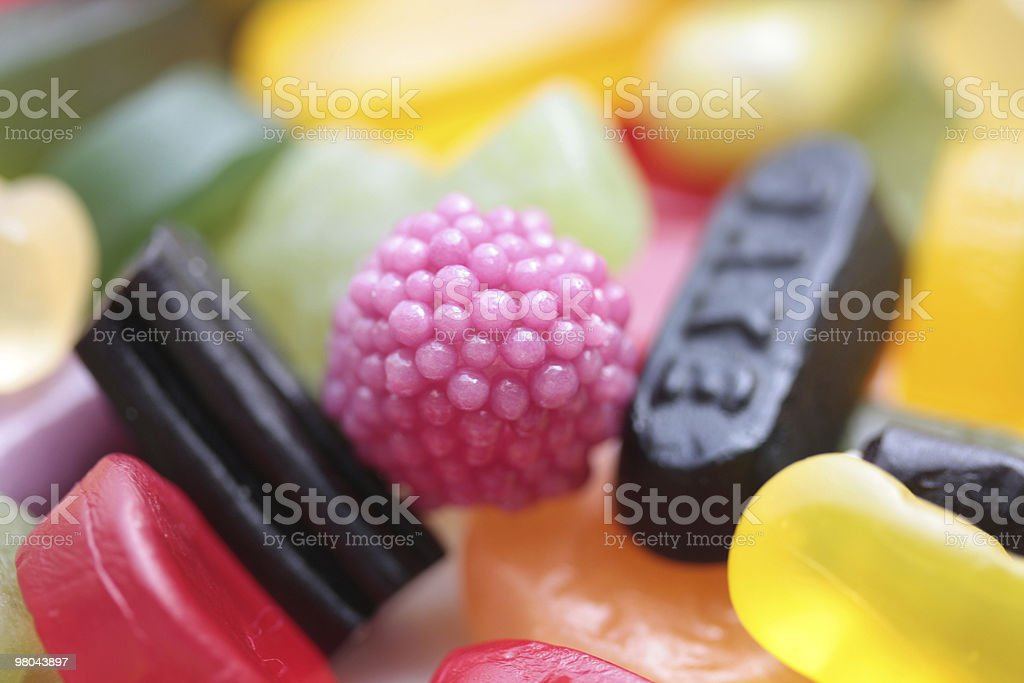 assorted candy royalty-free stock photo