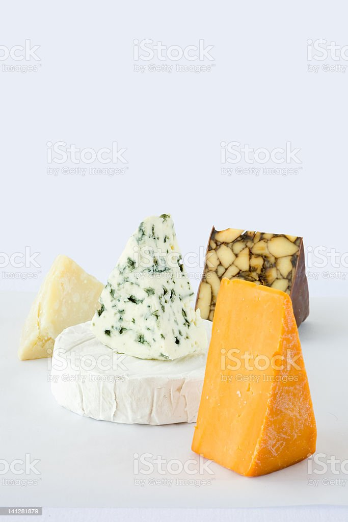 Assorted Cheese royalty-free stock photo