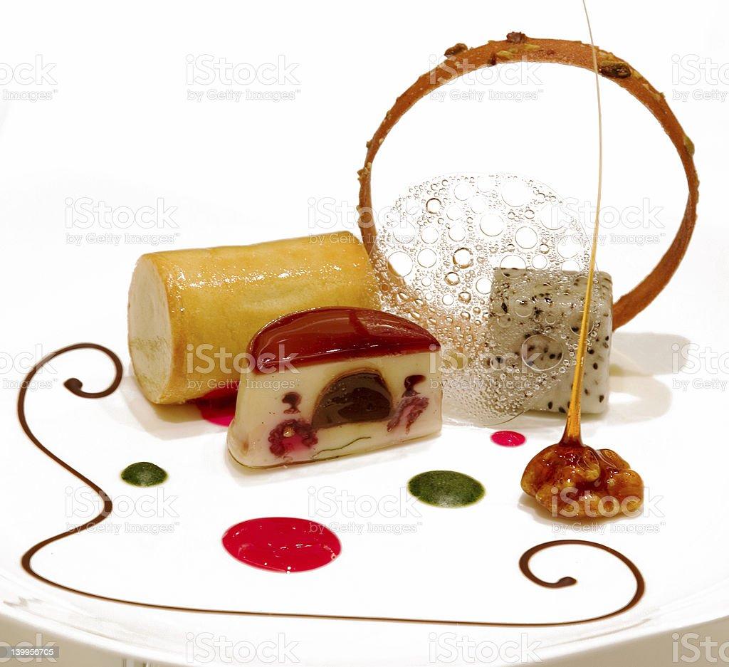 Assorted Desserts stock photo