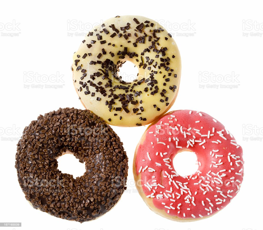 Assorted doughnuts royalty-free stock photo