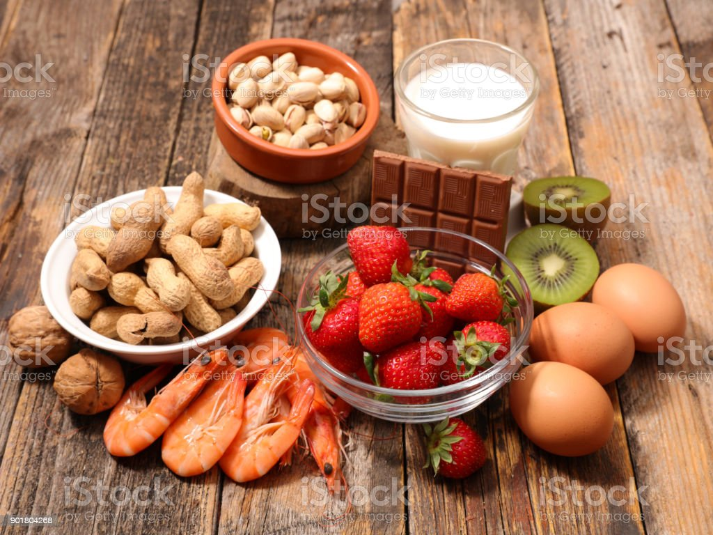 assorted food ingredient stock photo