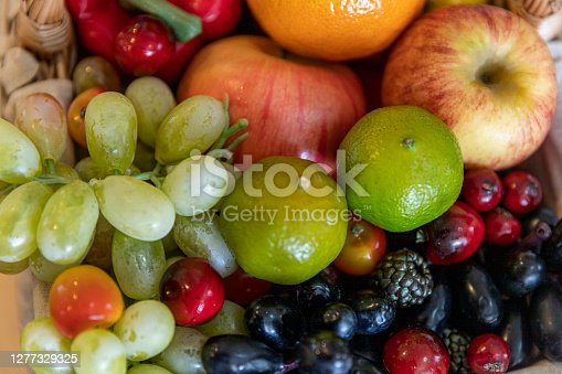 istock Assorted foods and vegetables 1277329325