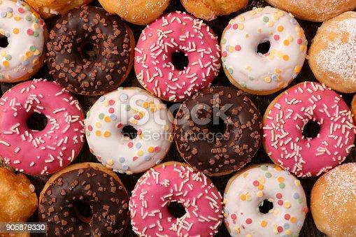 istock assorted glazed donut 905879330
