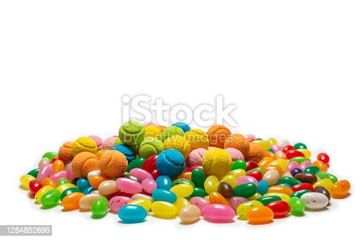 istock Assorted gummy candies. Jelly  sweets. 1254852695