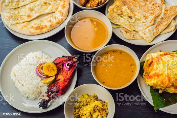 Assorted indian food on dark wooden background dishes and appetizers picture id1205865854?b=1&k=6&m=1205865854&s=612x612&h=sjng j 0 aspdk2byhsai xzy4mkzq6erjhwde1p9fc=