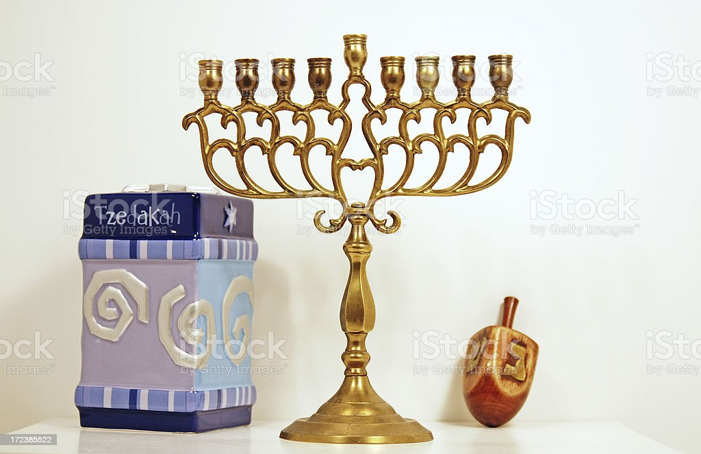 Assorted Judaica royalty-free stock photo