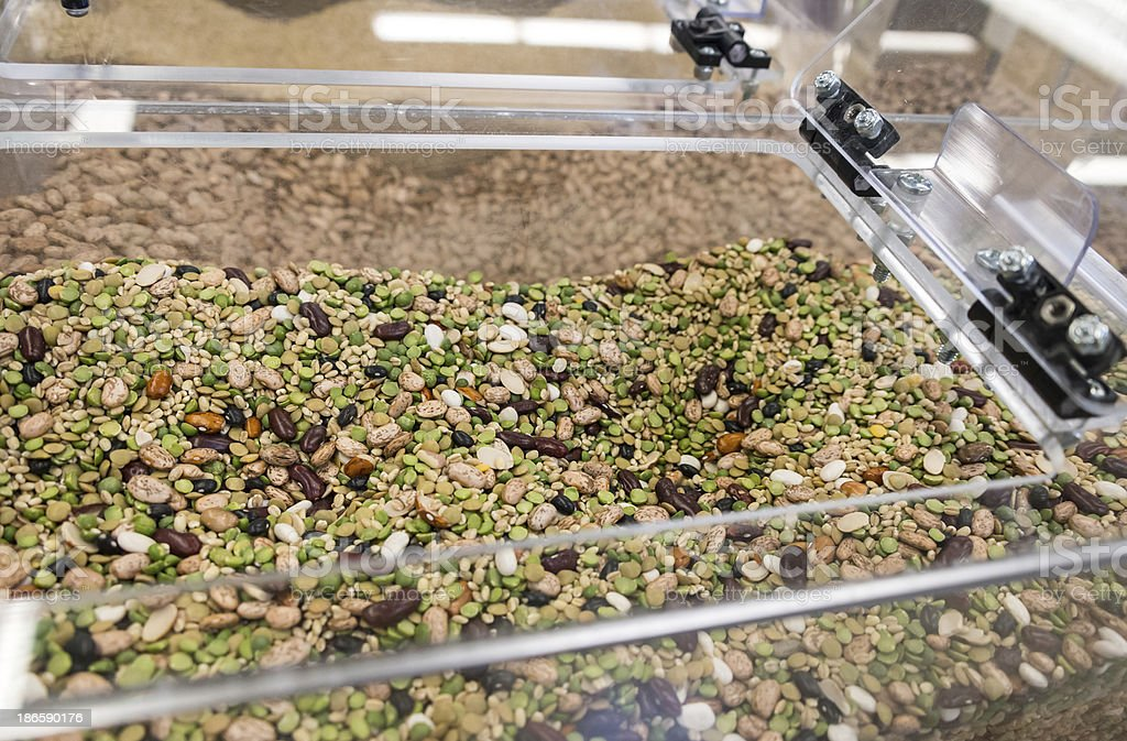 Assorted Organic Legumes stock photo