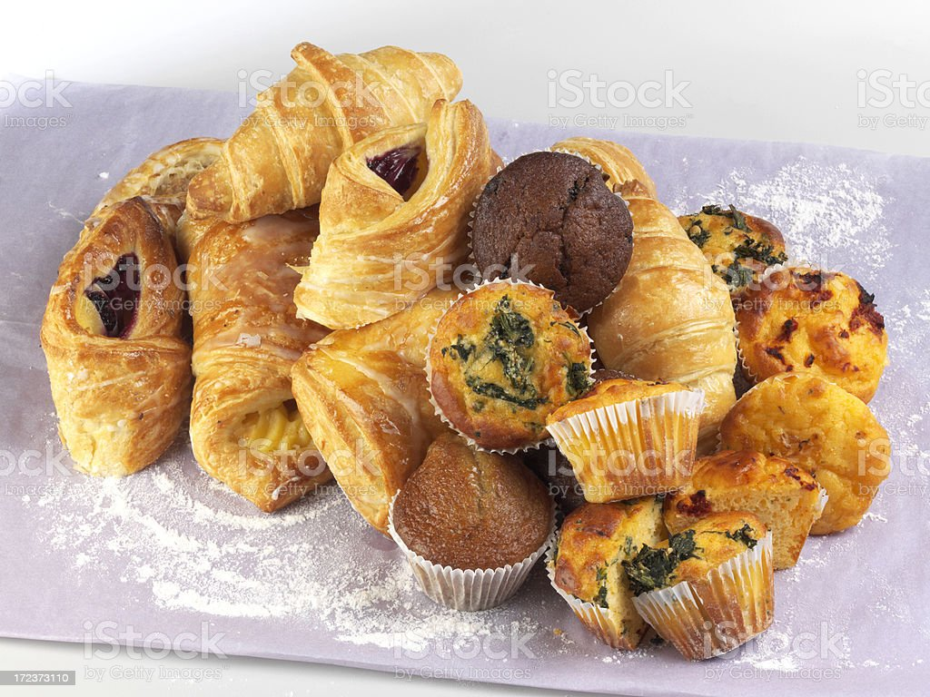 Assorted Pastries royalty-free stock photo