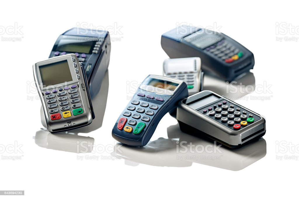 Assorted Point Of Sale Terminal Equipment For Small Business Stock ...
