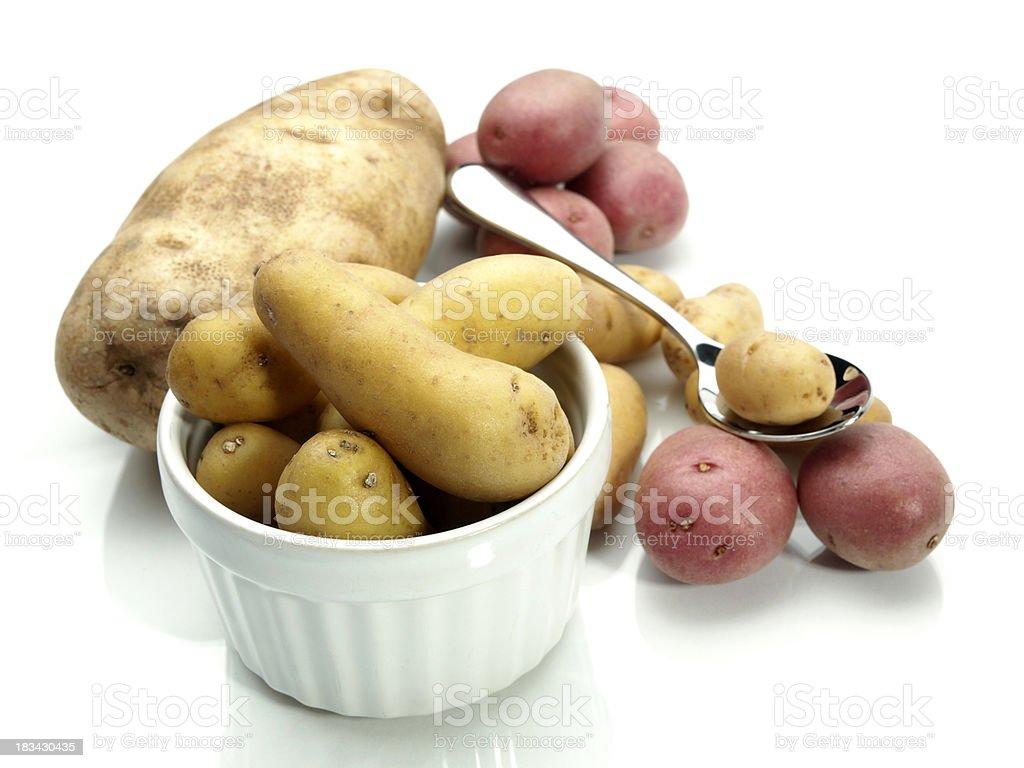 Assorted Potato types royalty-free stock photo