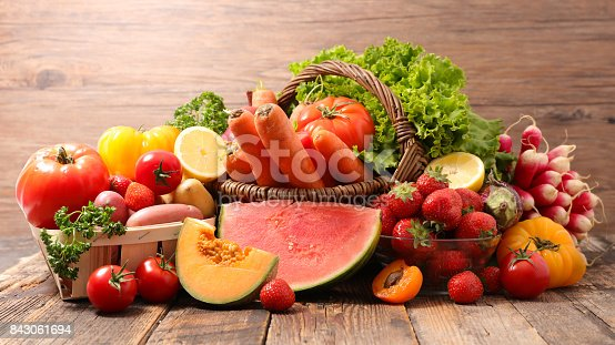 istock assorted raw fruits and vegetables 843061694