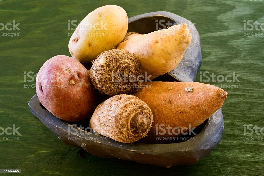 Assorted roots royalty-free stock photo