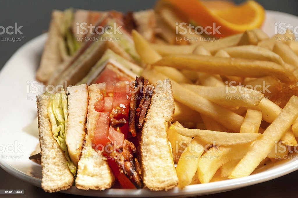 Assorted Sandwich royalty-free stock photo